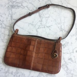 VINTAGE DOONEY & BOURKE Brown Shoulder Bag